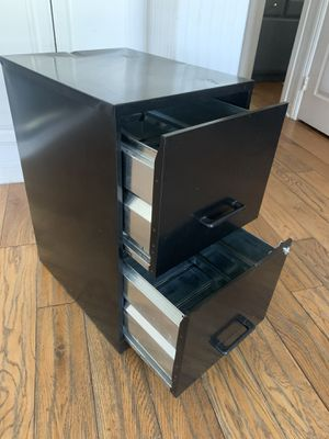 Filing cabinet two drawer with lock for Sale in Corona, CA