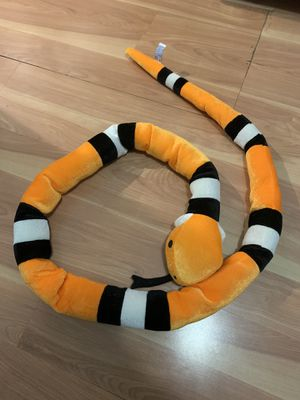 Stuffed Animal Snake 7ft. Long for Sale in Coral Gables, FL