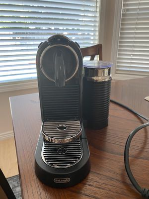 Nespresso coffee plus milk frother for Sale in Meridian, ID