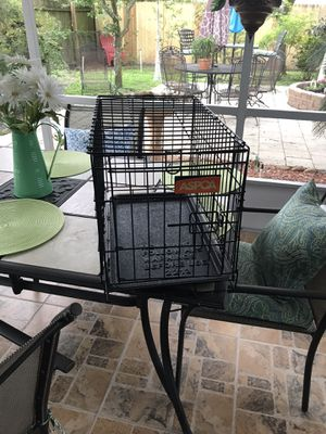 Folding dog cage for Sale in Orlando, FL