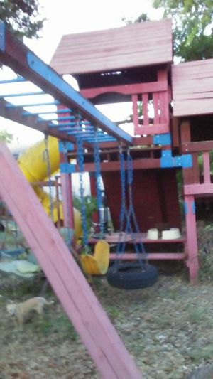 3 story play scape . playground. Swing set for Sale in Lytle, TX