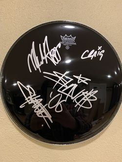 Travis Barker Signed Drumhead for Sale in North Bend,  WA