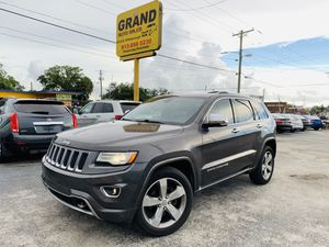 2014 Jeep Grand Cherokee overland for Sale in Tampa, FL