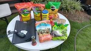 Heat màt seed starter plus other garden stuff for Sale in Durham, NC