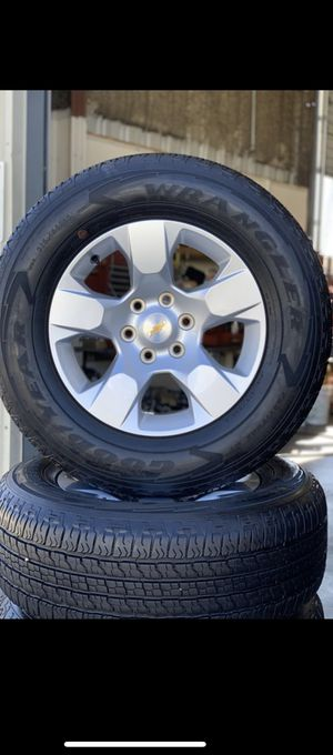 2020 Chevy/GMC/Ram Wheels And Tires Brand New for Sale in Patterson, CA