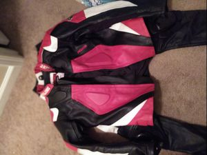 Motorcycle leather jacket and pants for Sale in Fuquay-Varina, NC