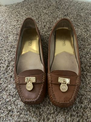 Michael Kors size 7.5 camel loafer for Sale in Phoenix, AZ