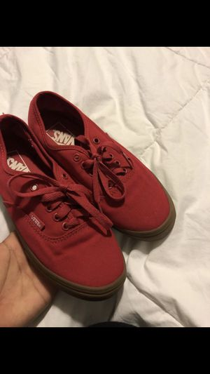 red vans for Sale in Houston, TX