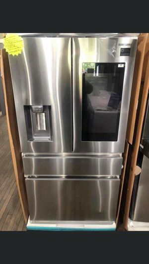 New in box Samsung Family Hub Counter Depth Refrigerator Full factory warranty valid through2/26/2020 for Sale in Montclair, CA
