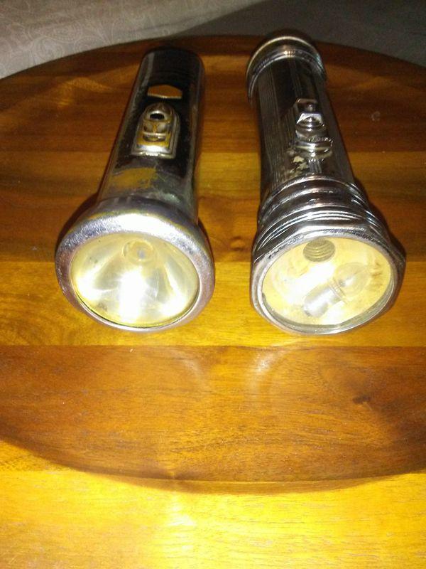 Vintage Everready Flashlights