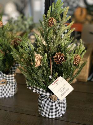 Buffalo check Christmas trees farmhouse for Sale in Ontario, CA