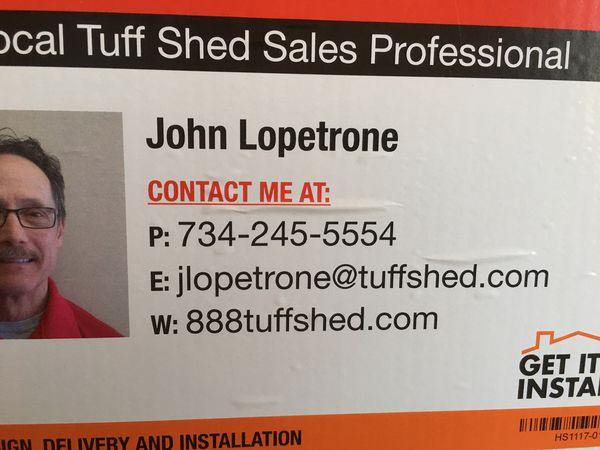 Tuff Shed SR-600 8' x 12'