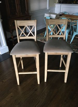 Bar Stools set of 2 for Sale in Chicago, IL