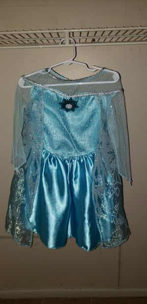 Disney Elsa Dress and matching shoes for Sale in PT CHARLOTTE, FL