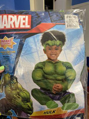 Halloween custome ( hulk ) 12-24 months for Sale in Miami, FL