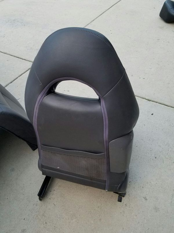 Leather seats from Lexus rear Toyota front