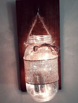 Set Of 2 Mason Jar Hangers for Sale in Woburn,  MA
