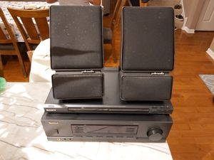 Stereo receiver, dvd/cd player and speakers for Sale in Darien, IL
