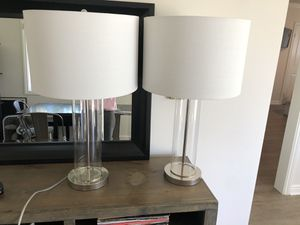 Set of Lamps for Sale in Los Angeles, CA