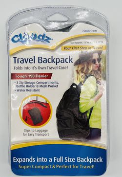 Cloudz Travel Backpack for Sale in Germantown,  MD