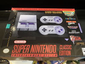 Super Nintendo Classic Edition- brand new, sealed! for Sale in Washington, DC