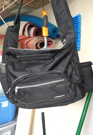 Trek bag and cover for trailer bike for Sale in Coppell, TX