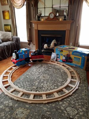 For all Thomas lovers Thomas the Train battery operated ride tractor they don't make this toy anymore it's for sale  excellent condition for Sale