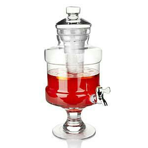 New Hand Blown Glass Beverage Server with Chiller! for Sale in Boston, MA