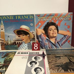 Connie Francis/Di Mara Sisters Albums for Sale in Palisades Park, NJ