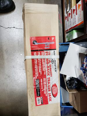 1000lb capacity swing back trailer jack for Sale in Lakewood, CO