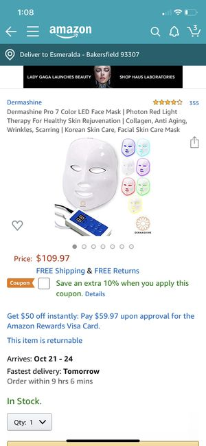 LED Face mask for Sale in Bakersfield, CA