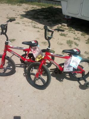 "2 16"" little boys bikes. New $45 both for Sale in San Angelo, TX"
