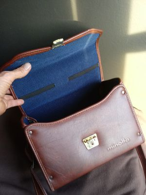 RARE Vintage Minolta Carrying Case-NEAR-MINT for Sale in Chino, CA