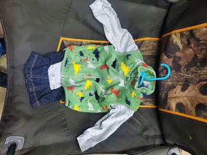12 months Carters dinosaur vest outfit for Sale in Waterford, PA