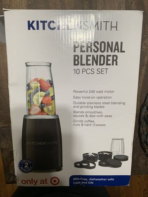 Kitchen Smith Personal Blender 10pc Set for Sale in Covina, CA