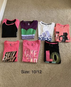 Girls Dri-Fit/ Workout Shirts for Sale in Chula Vista, CA