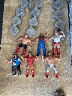 WWF WWE vintage collectible figurines for Sale in Claremont, CA