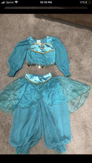 Girls princess jasmine costume size 4 for Sale in Anaheim, CA