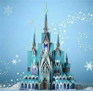 Disney Frozen Castle Limited Edition Light Up Figurine for Sale in St. Charles, IL