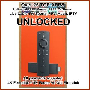 With Alexa new fire TV Stick 4k for Sale in New York, NY