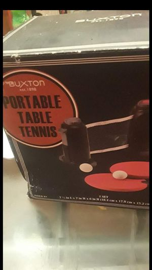 Portable table tennis for Sale in Aurora, CO