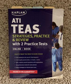 ATI TEAS Strategies, Practice & Review (Kaplan Test Prep) for Sale in San Dimas, CA