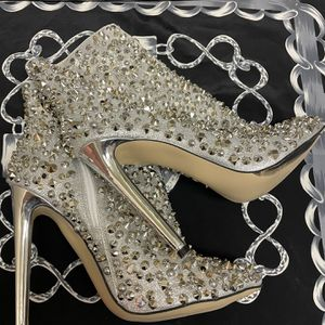 Embellished Silver Heels for Sale in Sloan, NV