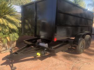 8X12X4 DUMP TRAILER for Sale in El Cajon, CA