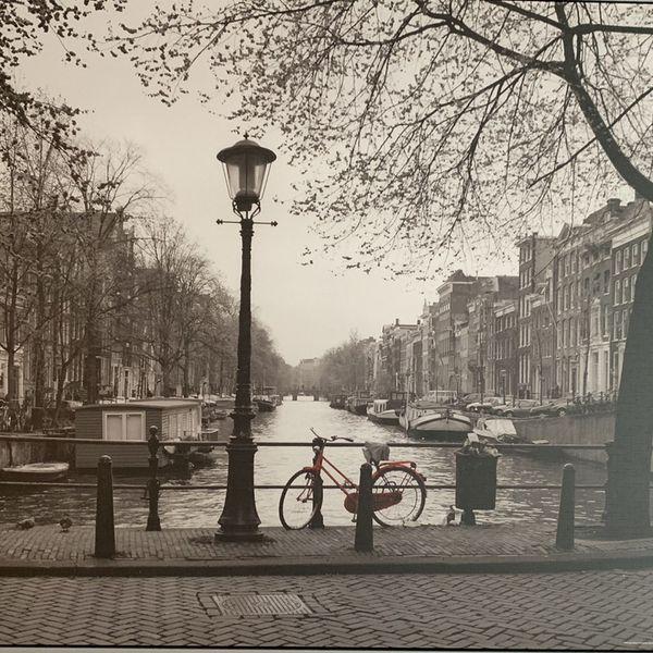 Ikea Canvas Picture, Amsterdam