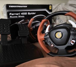 Xbox1/1s /pc thrustmater steering wheel and pedals for Sale in Atlanta, GA