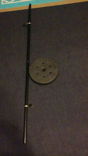 100 lb barbell weighted set for Sale in US