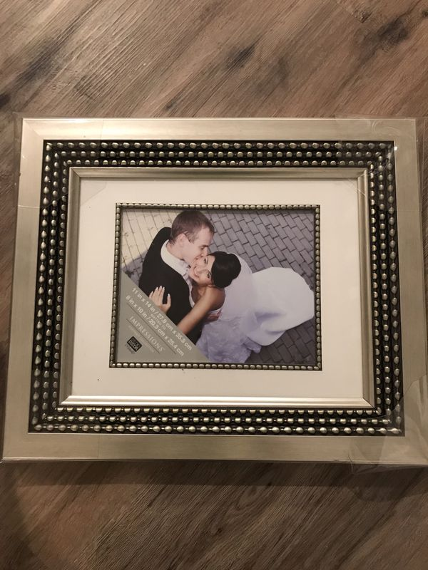Brushed Champagne Gold Photo Frame