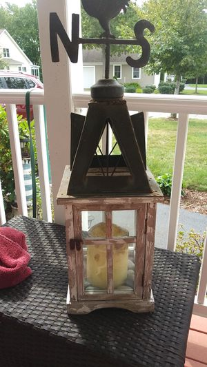Outside candle. holder for Sale in Rochdale, MA