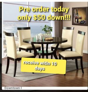 Brand new table and 2 chairs for Sale in Mansfield, TX